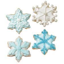 snowflake cookies warm winter snowflake cookies wilton