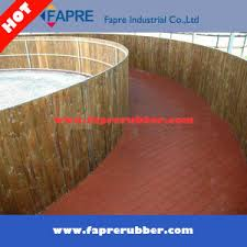 Recycled Rubber Patio Tiles by China Recycled Rubber Pathway Patio Pavers Rubber Bricks China
