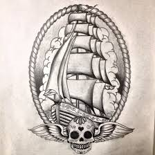 ship in the bottle tattoo on thigh photos pictures and sketches