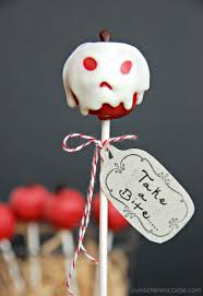 Halloween Cake Pop Molds by Poisoned Apple Cake Pops The Kitchen Mccabe