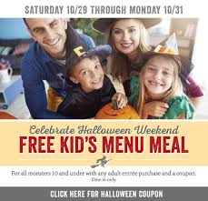 Old Country Buffet Coupon Buy One Get One Free by 12 Places To Get Free Food On Halloween The Krazy Coupon Lady