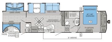 fifth wheel bunkhouse floor plans wood flooring ideas