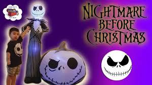 Walgreens Christmas Decorations Disney Nightmare Before Christmas Giant Jack Skellington Airblown