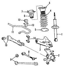 lexus gs300 parts diagram parts com lexus ls400 suspension mounting oem parts