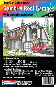 gambrel roof garages gambrel roof garages plan building plans only at menards