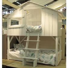 chambre garçon lit superposé lit cabane enfant superposé coloris au choix mathy by bols ma