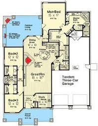 Jack And Jill Style Bedroom Plan 48520fm Exclusive Three Bed Country Craftsman Craftsman