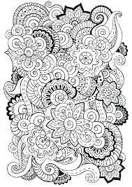 coloring pages henna art easy henna coloring pages intricate mandala flower book best