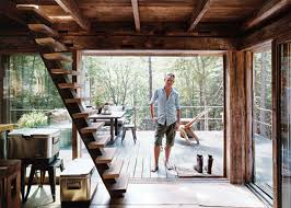 Cabin Design Stylist Scott Newkirk Unwinds In His Tiny 14 14 Cabin Made