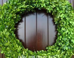 preserved boxwood wreath boxwood wreath etsy