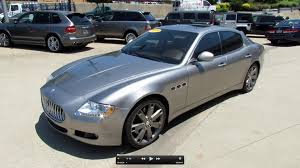 maserati quattroporte custom 2009 maserati quattroporte s start up exhaust and in depth