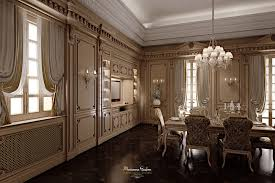 classic kitchen wooden lacquered romantica modenese