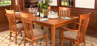 Shaker Style Dining Room Furniture Shaker Dining Tables Vermont Woods Studios