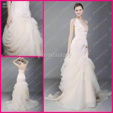 wholesale one shoulder fashion wrap dress organza bubble fall