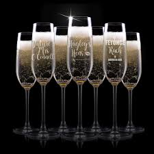 engraved hens party champagne glasses custom hens night champagne