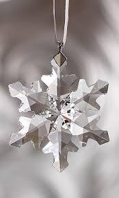 swarovski swarovski 2012 ornament snowflake