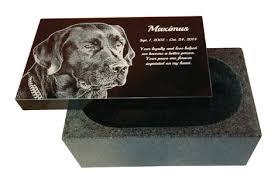 dog cremation garden memorials black granite cremation pet headstone