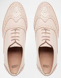 Million Dollar Tan Products Asos Million Dollar Leather Brogues In Natural Lyst