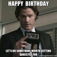 Supernatural Birthday Meme - happy birthday sammy supernatural amino
