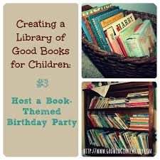 creating a library of good children u0027s books 3 host a book