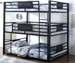 Bunk Bed For Cheap Bunk Bed Bronze Steel Size Three Level Bunk Bed