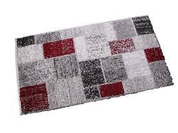 tappeto moderno rosso tappeto moderno scozzese gilles