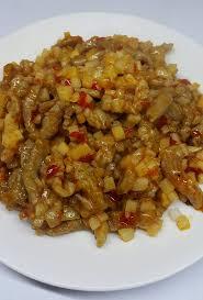 photos cuisines relook馥s 馥桂園餐館川菜台菜料理 魚香肉絲 是一道經典川菜 取名魚香 但是