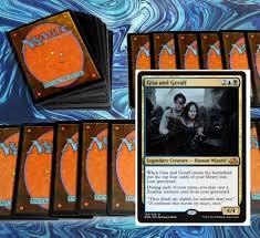 mtg black blue zombies deck magic the gathering rare cards soi