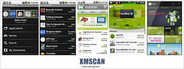 android market app android history devices and apps xmscan s