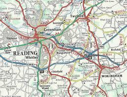 Aa Route Map 1960 U0027s 1970 U0027s And 1980 U0027s Highway Plans For Reading Page 2 Sabre