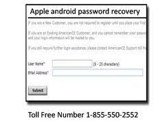 android tech support apple android password reset apple android password recovery
