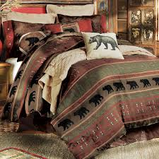 Fish Themed Comforters Rustic Bedding U0026 Cabin Bedding Black Forest Decor