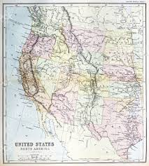 Relief Map Of Usa by Antique Map Of Western United States Stock Vector Art 481508449