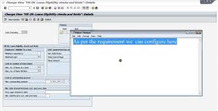 sap hr loan configuration youtube
