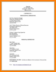 resume references examples templateresume references template