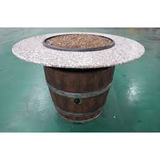 wine barrel fire table wine barrel outdoor fire pit barrel fire pit