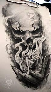 344 best skull tattoo u0027s images on pinterest skull tattoos