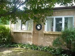 around the house back yard trellis diy michael penney style