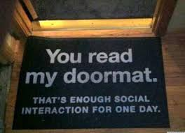 Humorous Doormats Ideas Welcome To Our Home Doormat Funny Doormats Welcome Mats