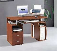 Desk With Computer Storage Compact Mahogany Computer Desk With Storage Printer