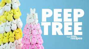 how to make an easter peep tree video myrecipes