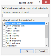 inserting and deleting rows in a protected worksheet microsoft excel