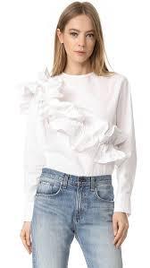 blouse ruffles ruffle blouse mafia ruffles and frill blouse