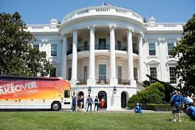 house makeover shows file michelle obama participates in the filming of an extreme