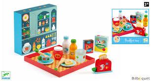 djeco cuisine le breakfast jouet d imitation en bois djeco cuisine