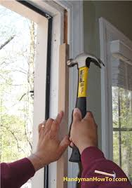 Hanging Exterior Doors Install A Prehung Exterior Doo Add Photo Gallery How To Install An