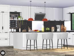 how to make a corner kitchen cabinet sims 4 wondymoon s bohrium kitchen i