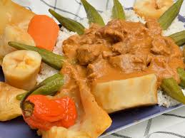 cuisine malienne mafé mafé or maafe recipe in peanut sauce whats4eats