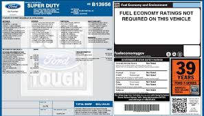 95 Ford Diesel Truck - 2017 window sticker ford truck enthusiasts forums
