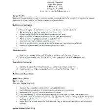 exle resume summary of qualifications summary qualifications resume exles customer service waiter ideas